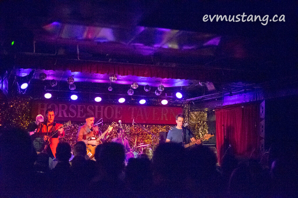 image of the rheostatics at the horseshoe tavern 2017