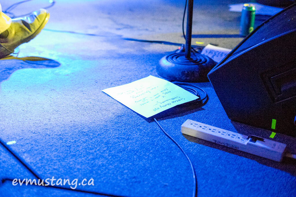 image of the rheostatics at the horseshoe tavern 2017, bidini shoe, set list